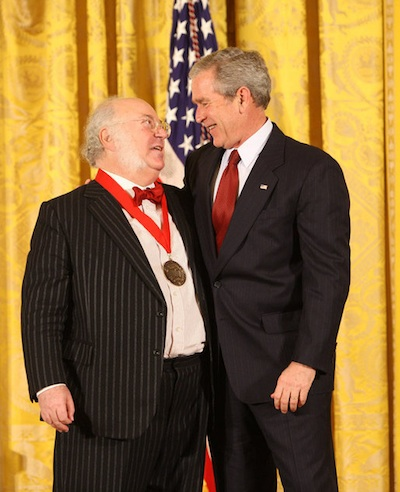 Myron Magnet receives the National Humanities Medal, November 2008