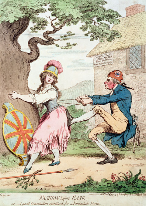gillray paine cartoon