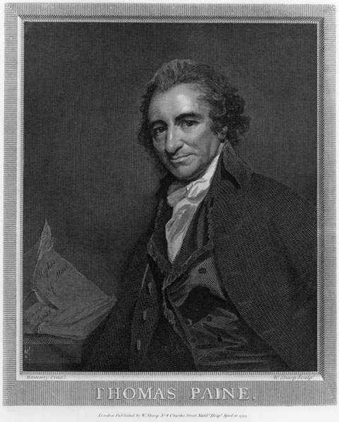tom paine portrait