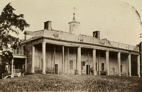 mount vernon in ruins